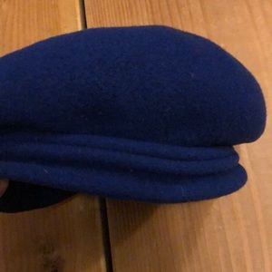 Wool blue French beret Nordstrom made in France